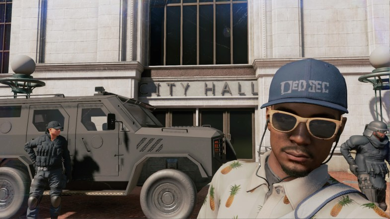 Watch Dogs 2 Selfie